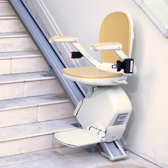 outdoor stairlift exterior acorn 130 stair chair outside