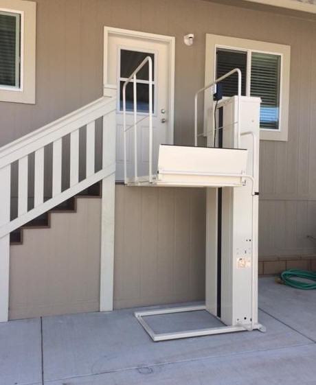 pl72 5 feet mac lift oakland ca porchlift