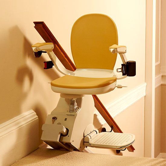 The Number 1 Choice for Straight Staircases - Acorn 130 Superglide Stairlift