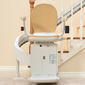 custom curved acorn 80 stairchair San Francisco CA