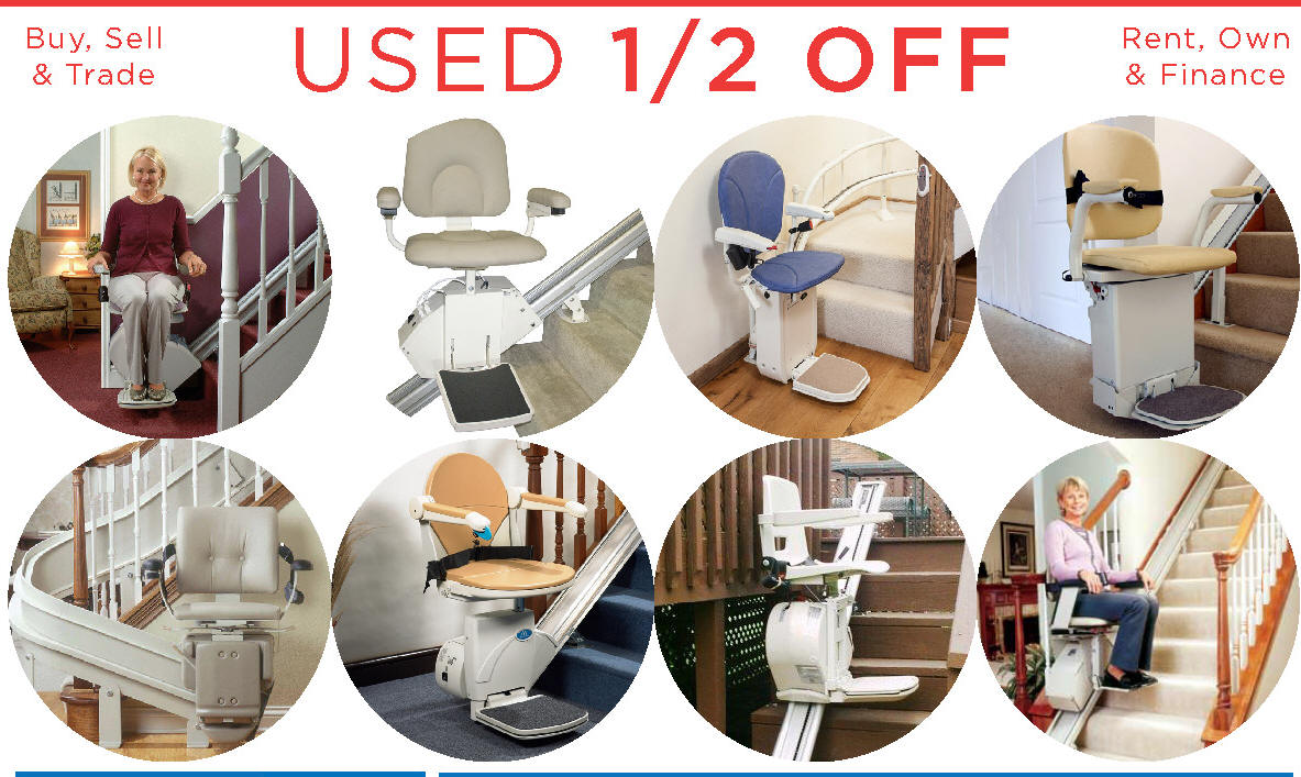 The Acorn 130 Outdoor StairLift  Call Antioch Stair Lifts