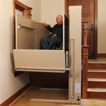 san francisco ca vpl3100 bruno vertical platform wheelchair lift