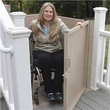 bruno vpl3100 vertical platform lift vpl3200 ada american disabilities act porchlift