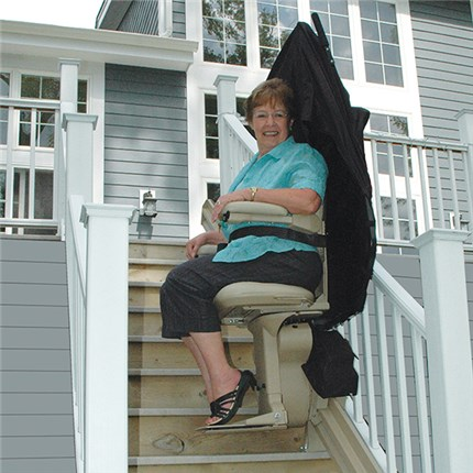 san francisco stairlift elite outdoor outside exterior straight