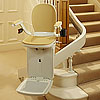 The Acorn Stairlifts 180 model has an easy-to-fit rail that fits unobtrusively in any HOME.