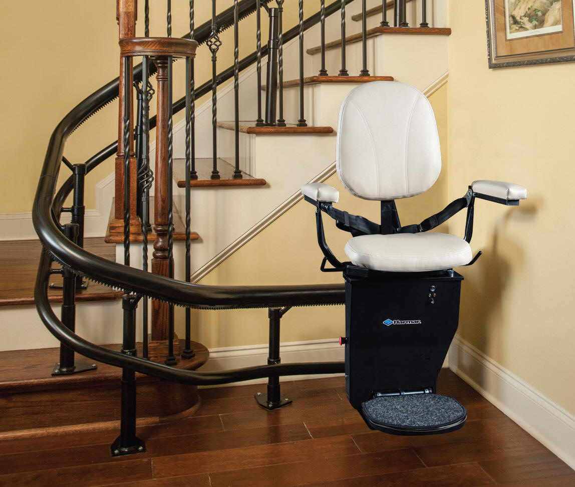Helix san francisco Outdoor Indoor StairLift