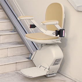 acorn 130 outside oakland ca exterior stairchair lift chair